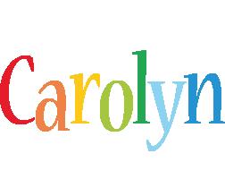 Carolyn birthday logo