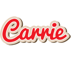 Carrie chocolate logo