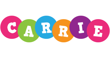 Carrie friends logo