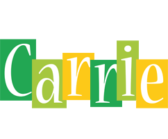 Carrie lemonade logo