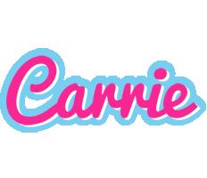 Carrie popstar logo