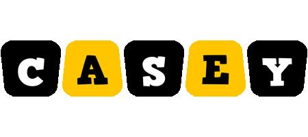 Casey boots logo