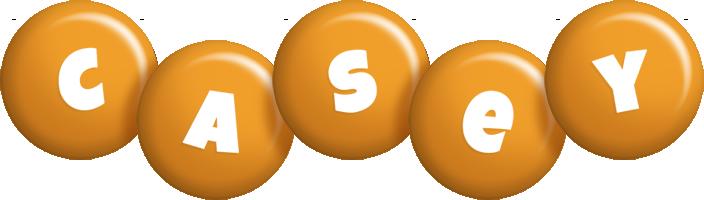 Casey candy-orange logo