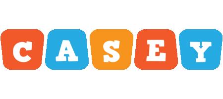 Casey comics logo