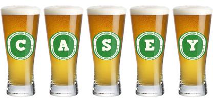 Casey lager logo