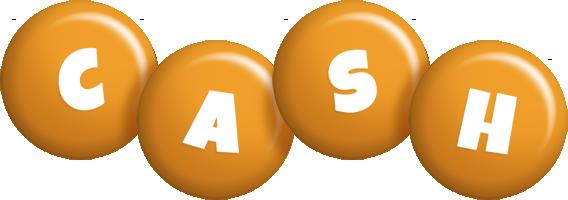 Cash candy-orange logo