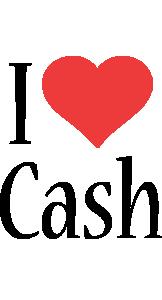 Cash i-love logo