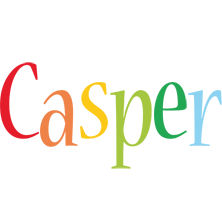 Casper birthday logo