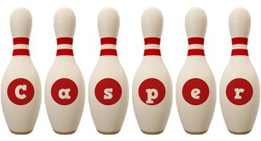 Casper bowling-pin logo