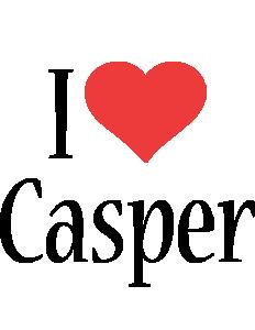 Casper i-love logo