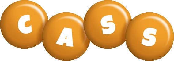 Cass candy-orange logo