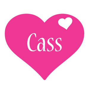 Cass love-heart logo