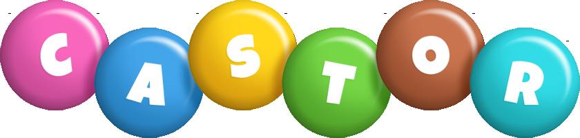 Castor candy logo