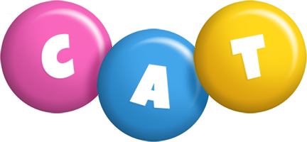 Cat candy logo