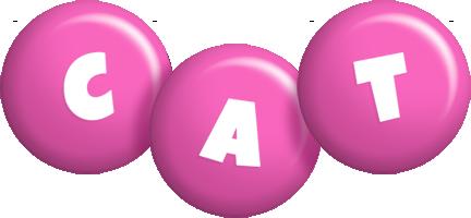 Cat candy-pink logo