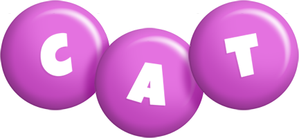 Cat candy-purple logo