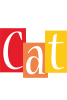 Cat colors logo