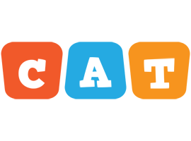 Cat comics logo