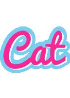 Cat popstar logo