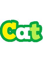 Cat soccer logo