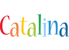 Catalina birthday logo