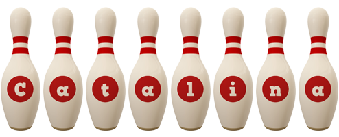 Catalina bowling-pin logo