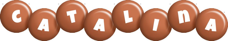 Catalina candy-brown logo