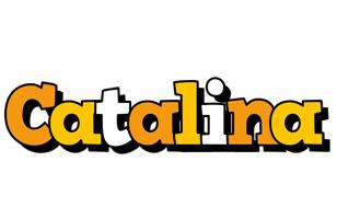 Catalina cartoon logo