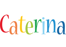 Caterina birthday logo