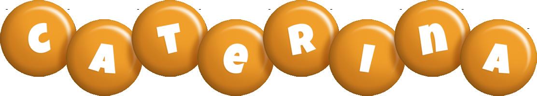 Caterina candy-orange logo