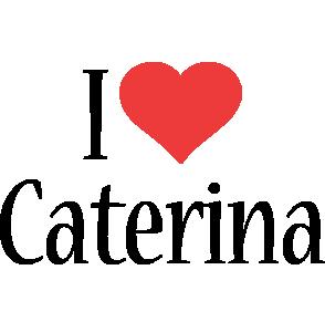 Caterina i-love logo