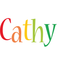 Cathy birthday logo