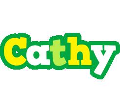 Cathy soccer logo