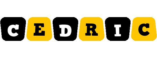 Cedric boots logo