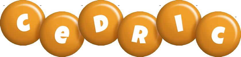 Cedric candy-orange logo