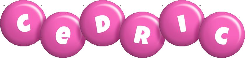Cedric candy-pink logo