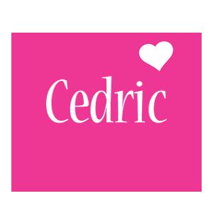Cedric love-heart logo