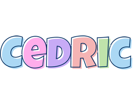 Cedric pastel logo