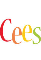 Cees birthday logo