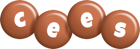 Cees candy-brown logo