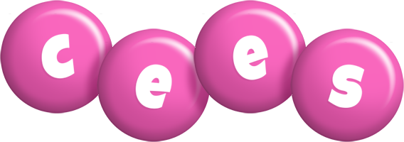 Cees candy-pink logo