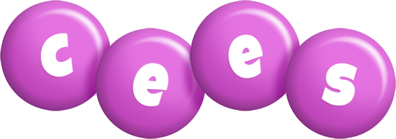 Cees candy-purple logo