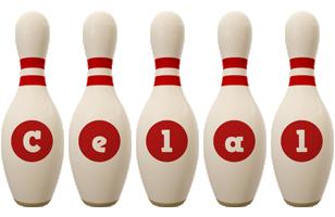 Celal bowling-pin logo