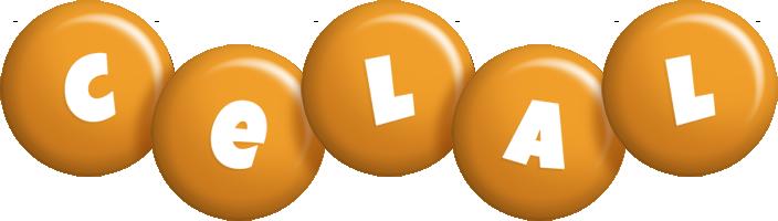 Celal candy-orange logo