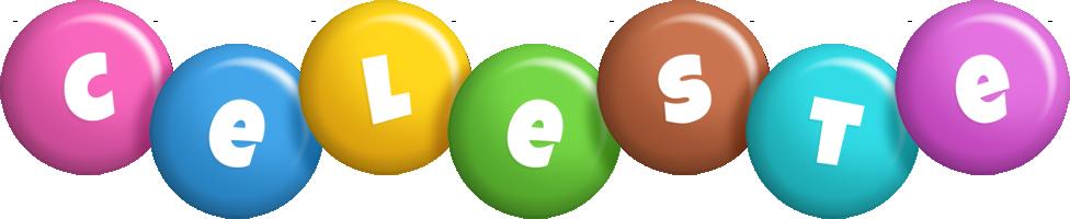 Celeste candy logo
