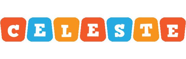 Celeste comics logo