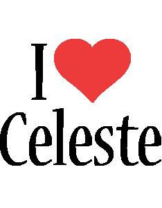 Celeste i-love logo