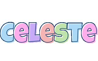 Celeste pastel logo