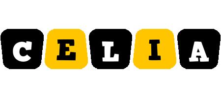 Celia boots logo