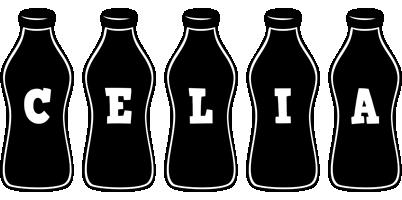 Celia bottle logo